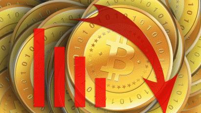 Курс Bitcoin упал, но способен резко вырасти