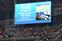 Впервые в истории отечественного футбола с помощью VAR назначен пенальти