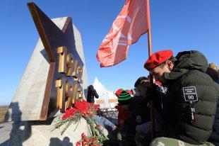 Монтаж центральной фигуры знаменитого Ржевского мемориала начнут осенью